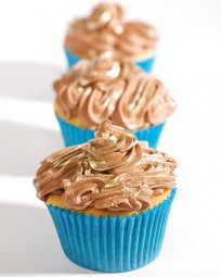 Mexican Chocolate-Pudding-Filled Cupcakes - Martha Stewart Recipes