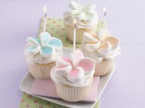 Happy Birthday Marshmallow Cupcakes Recipe from Betty Crocker