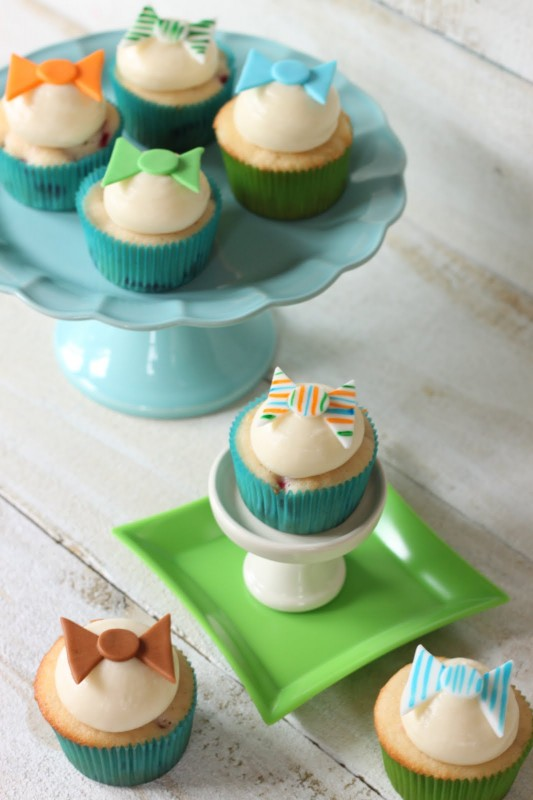Crave. Indulge. Satisfy.: Bow Tie Cupcake Toppers
