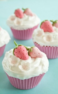 How to make gum paste strawberries | CakeJournal | How to make beautiful cakes, sweet cupcakes and delicious cookies