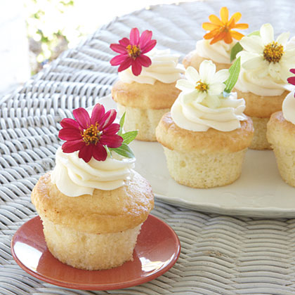 Garden Party Cupcakes Recipe | MyRecipes.com