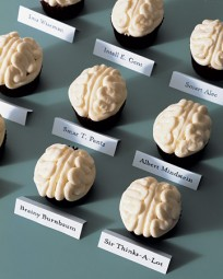 Brain Cupcakes - Martha Stewart Recipes