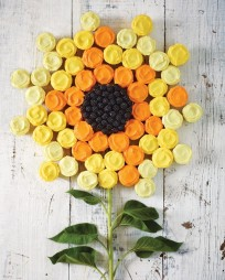 Sunflower Cupcake Cake - Martha Stewart Recipes
