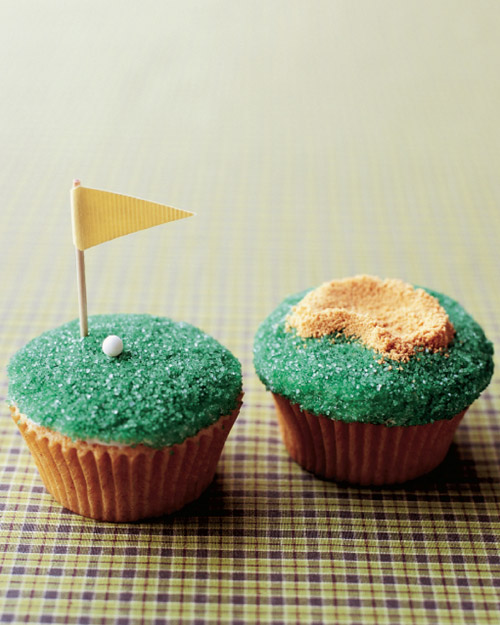 Father's Day Tee-Time Cupcakes - Martha Stewart Recipes