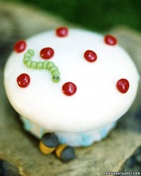 Toadstool Cupcakes - Martha Stewart Recipes