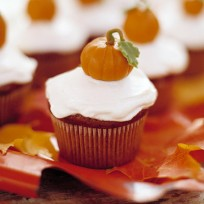 Pumpkin Patch Cupcakes Recipe - Delish.com