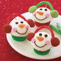 Cupcake recipe: Snowmen cupcakes - AllYou.com